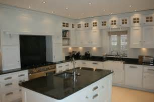 Kitchen Collection Stores Kitchen Cheltenham In Frame Glass Top Boxes White