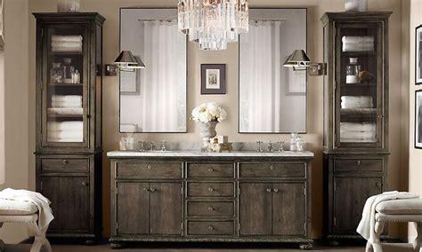 Restoration Hardware Vanity Table Restoration Hardware Bathroom Vanity Bathroom Designs Ideas