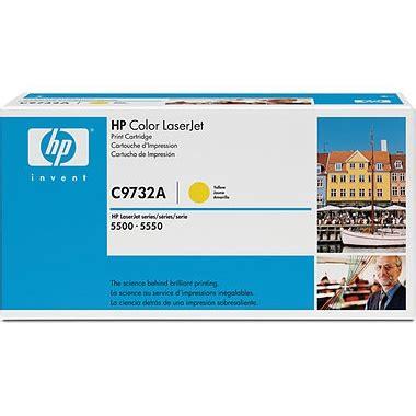 Toner Printer Hp 645a C9732a Yellow Baru c9732a toner cartridge hp genuine oem yellow