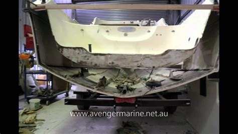 xpress boat repair mornington frankston melbourne australia fibreglass boat