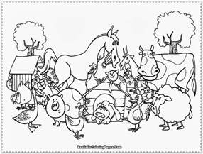 coloring book animals printable farm animal coloring pages realistic coloring pages