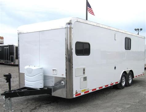 Auto Master by 2018 24 Auto Master Hauler With Living Quarters