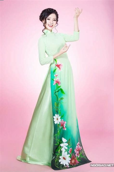 kh 225 nh hiền asian and middle eastern ao dai asian and painted dress