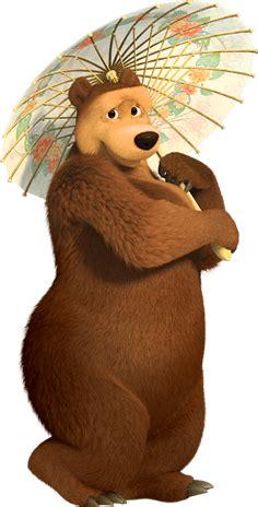 imagenes png masha y el oso imagen osa masha y el oso png doblaje wiki fandom