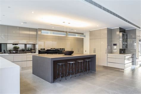 Latest Modern Kitchen Design by Stylish Family Home In Melbourne Australia