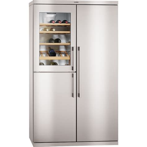 Freestanding fridge freezer   Side by side   S95900XTM0   AEG