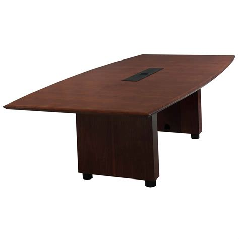 Steelcase Conference Table Steelcase Used Wood Veneer 8ft Conference Table Mahogany National Office Interiors And