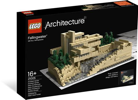 lego architecture 21005 fallingwater mattonito