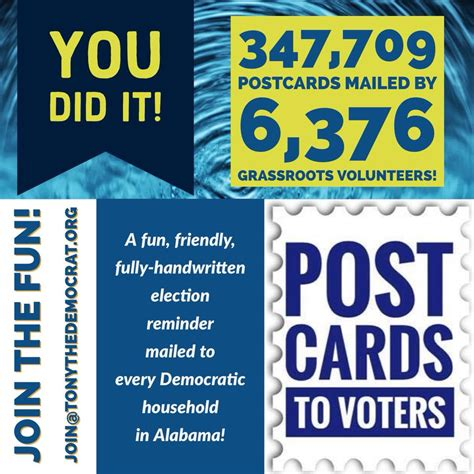 Post It T2b Poll Reminder by Doug Jones Postcards By Numbers