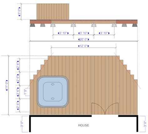 Sample House Floor Plans by Deck Software For Design And Planning Decks And Patios