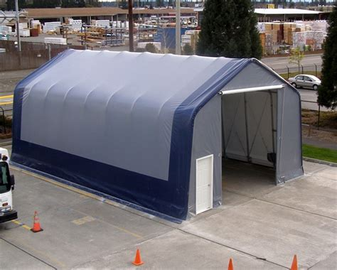 Temporary Shed by Mbd Fabric Covered Buildings Photos Temporary Relocatable
