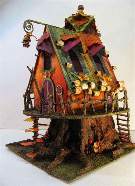 craft knife chronicles autumn fairy house fairy gardens
