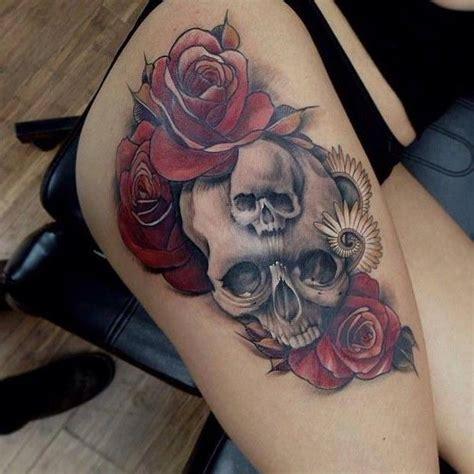 sexy rose tattoo best 25 skull tattoos ideas on skull