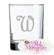 monogrammed barware 9 best images about monogrammed crystal barware on