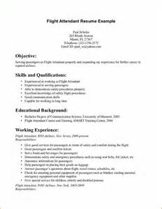 Flight Attendant Resume Exle 15 flight attendant cv no experience basic appication letter
