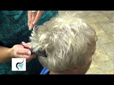 pictures of short hairstyles for grandmas how to style trendy haircut for grandma hairstyle youtube