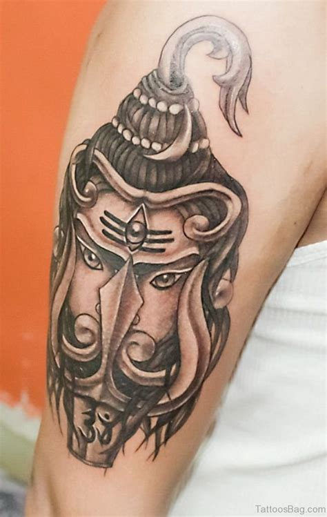 lord shiva tattoo 35 shiva tattoos on shoulder