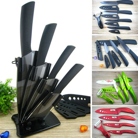 ceramic kitchen knives set aliexpress buy high quality ceramic knife set chef s kitchen knives 3 quot 4 quot 5 quot 6 quot inch