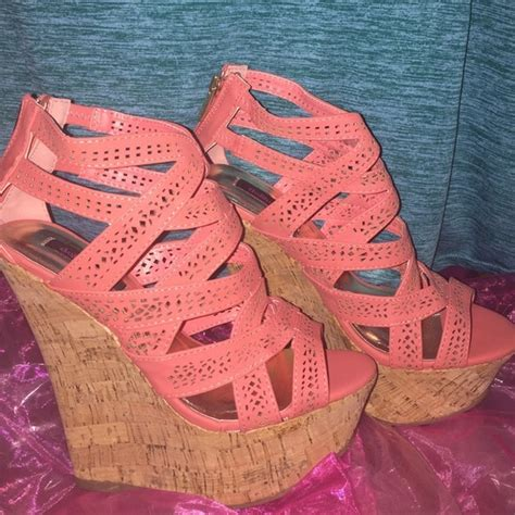 dollhouse high cork wedges from get it now s closet