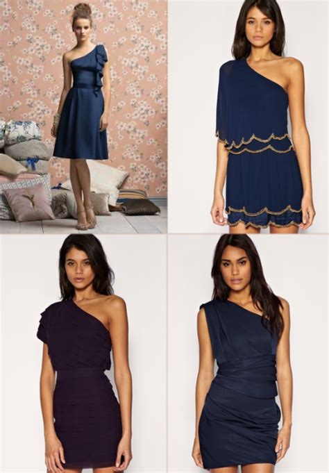 Dress Navy Blue Bunga Navy navy blue bridesmaid dresses with sleeves di candia fashion