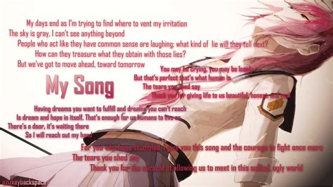 my song beats my song translation by