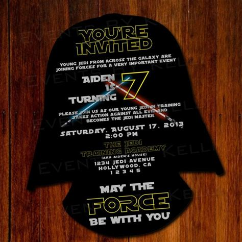 printable party invitations star wars star wars silhouette birthday invitation diy by