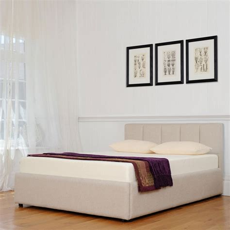 Tempur Biarritz Low Headboard Super King Size Ottoman At