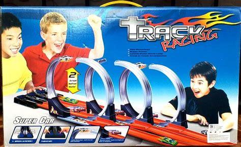 Mainan Anak Hotweheels Track Racing Halilintar 2 Jalu Termurah jual track racing hotwheels halilintar 3 jalur buy