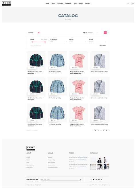 fashion ecommerce templates sumi fashion ecommerce psd template by chindin themeforest