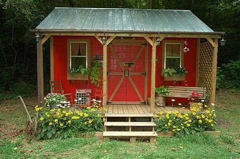 Garden Shed With Porch Plans by 23 Budget Friendly Garden Shed Ideas Worth Every Dollar