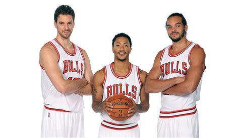 Mba Big 3 by Bulls Unveil A Big Three Of Their Own Chicago Bulls