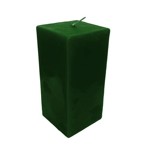 Square Candles Collumino Scented Square Pillar Candle 150 X 70mm Of