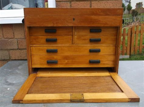 Engineers Cabinet by Engineers Chest Wooden Tool Box Cabinet Six Drawers