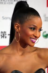 ponytail with a black hairstly elegant hairstyles haircut ideas celebrity ponytail