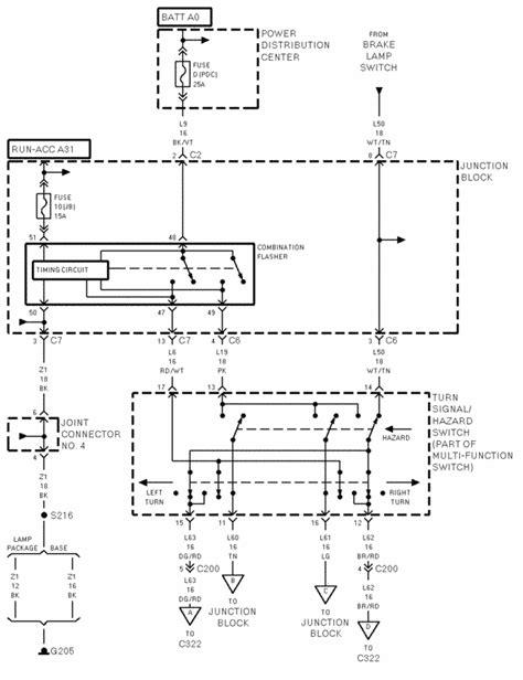 1998 dodge ram light wiring diagram wiring diagram