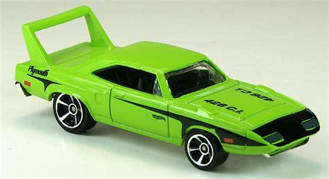 Hotwheels 68 Plymouth Hemi Cuda 70 plymouth superbird wheels wiki