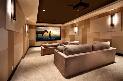 Home Theater Room Design Photo 35 Modern Media Room Designs That Will You Away