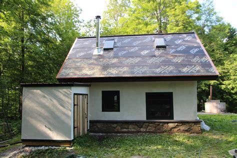 straw bale cottage finish plaster straw bale cottage vermont homes