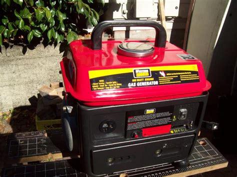 western rugged western rugged 950 watt generator central saanich
