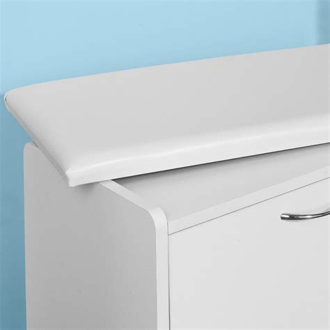 shoe storage cabinet with seat sobuy shoe cabinet shoe storage bench with padded seat