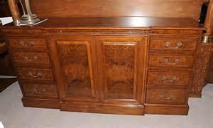edwardian walnut sideboard buffet server dining furniture