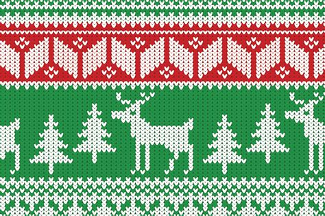 pattern ugly christmas sweater how to create a christmas jumper pattern in illustrator