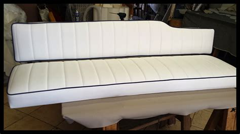 boat cushions reupholstered marine upholstery
