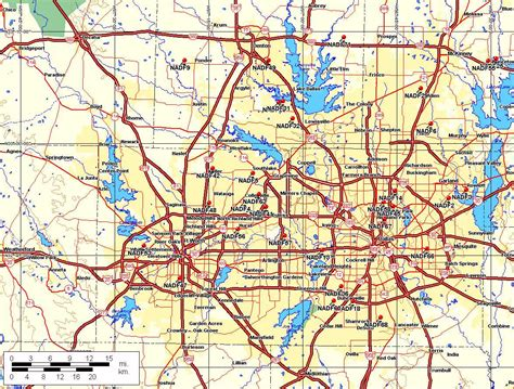 show me a map of dallas texas road maps of your cities skyscrapercity