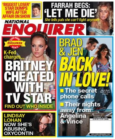 This Weeks National Enquirer Attempts by Graeme Edge National Enquirer