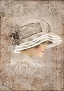 imagenes vintage femeninas mejores 108 im 225 genes de mujer con sombrero laminas en