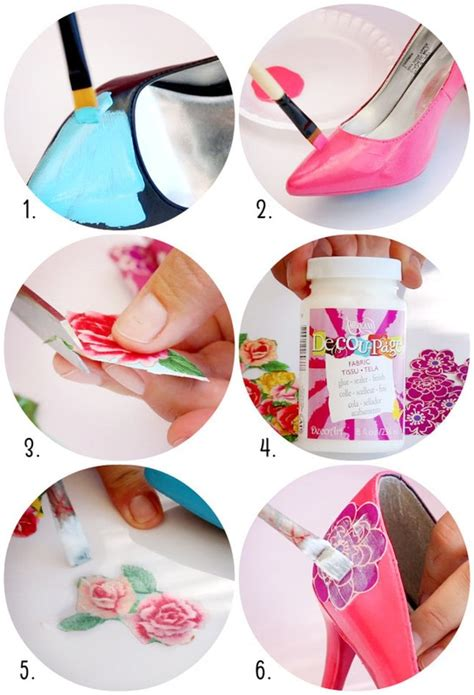 how to make decoupage shoes shoe makeovers 183 how to make a pair of decoupage