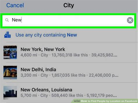 Find On By Name And Location How To Find By Location On With Pictures
