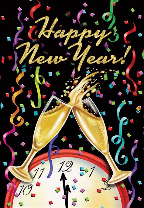 new year 5 ebay happy new year garden flag chagne confetti 12 5 quot x 18