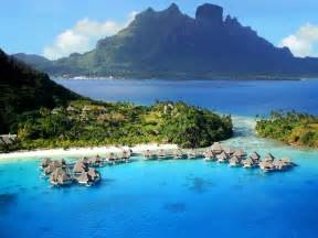 bora bora exotic places exotic bora bora resorts pictures